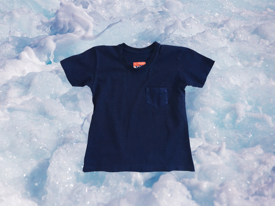 W'menswear Indigo Pocket Tee