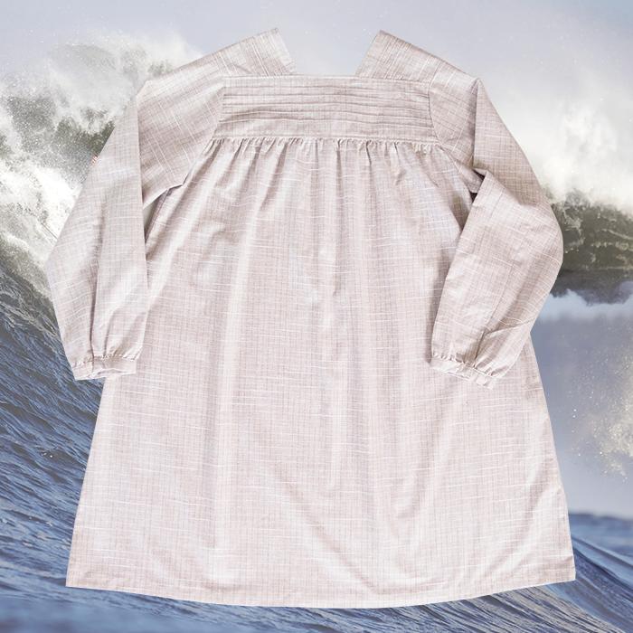 W'menswear Khadi Porcelain Dress 00067