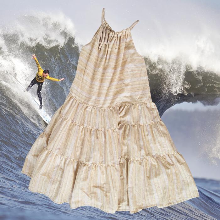 W'menswear Khadi Sail Dress 00073