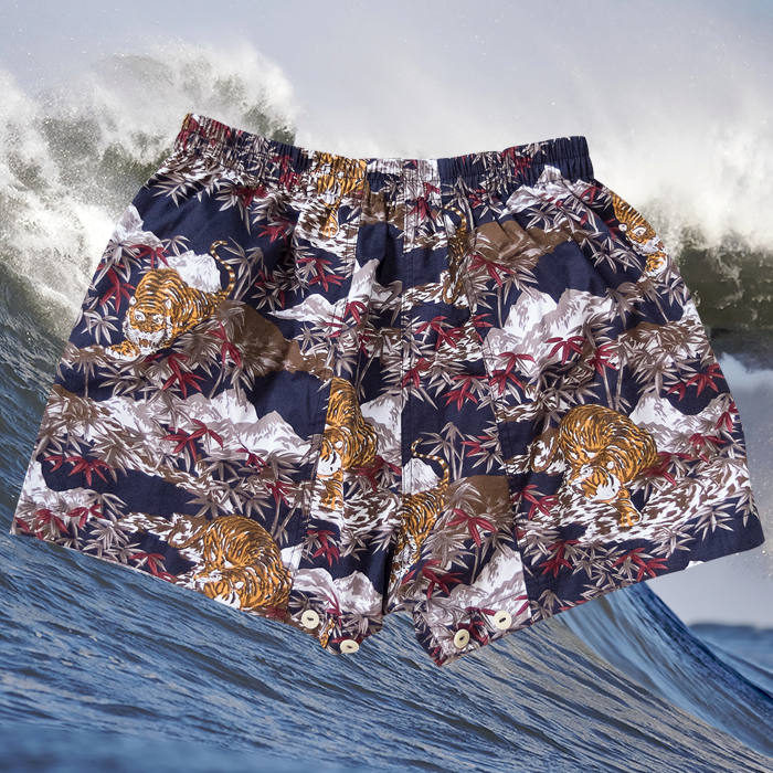 W'menswear All-Girls League Limited Edition Tiger Shorts 00079