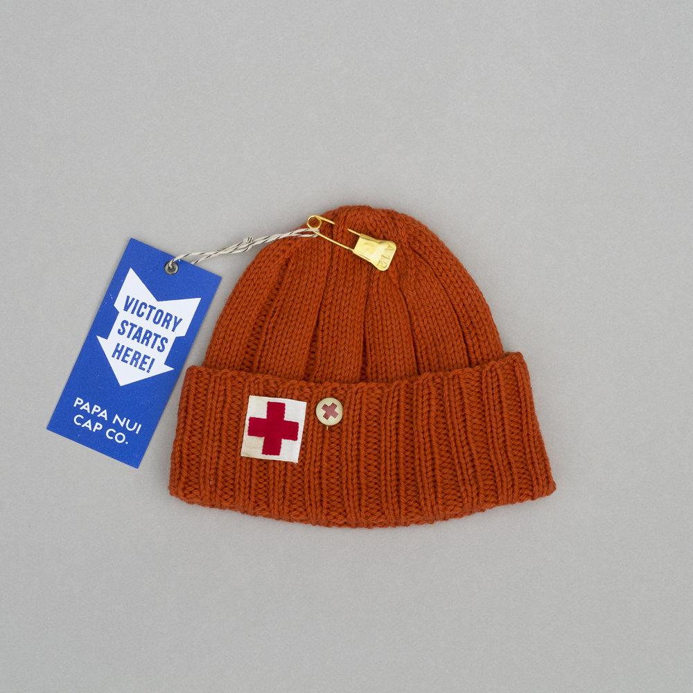 """PAPA NUI """"PONYTAIL CONVOY CAP"""" IN SAFETY ORANGE 00096"""