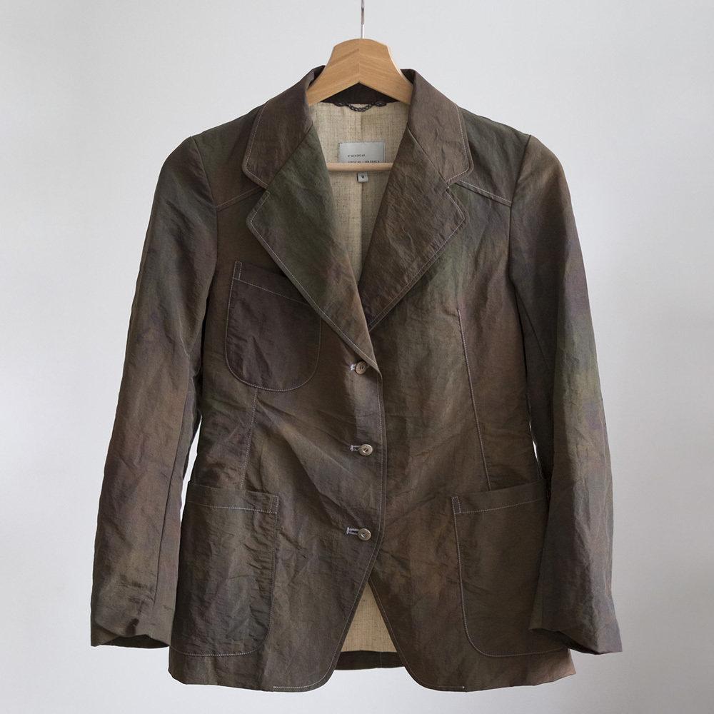 W'menswear Work Blazer in Jungle Camo 00112