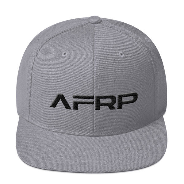 Official AFRP Brand Snapback (Black Label)