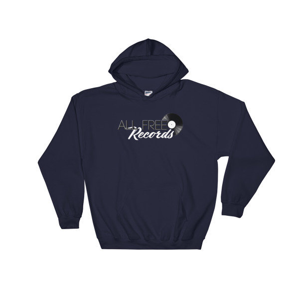 All Free Records Hoodie 00026