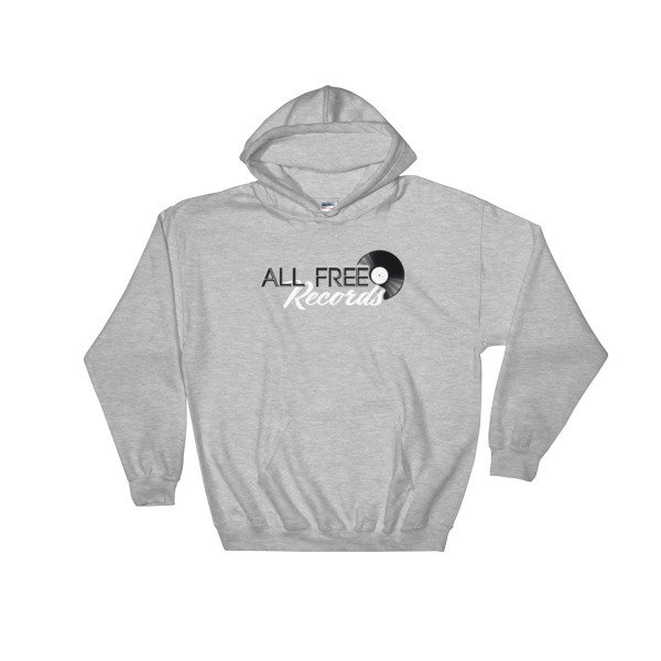 All Free Records Hoodie