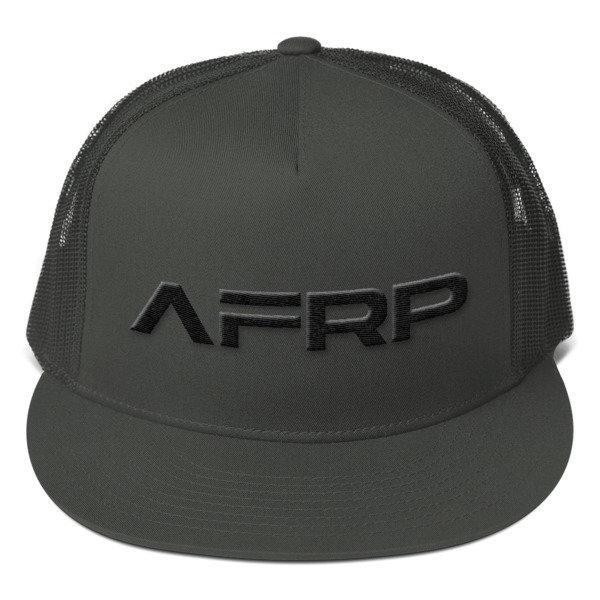Official AFRP Branded Mesh Back Snapback (Black Label) 00030