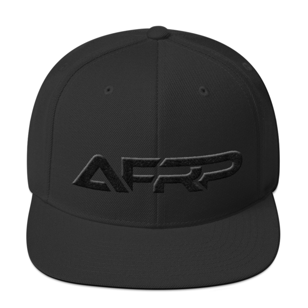 AFRP Midnight Edition Snapback Hat 00037