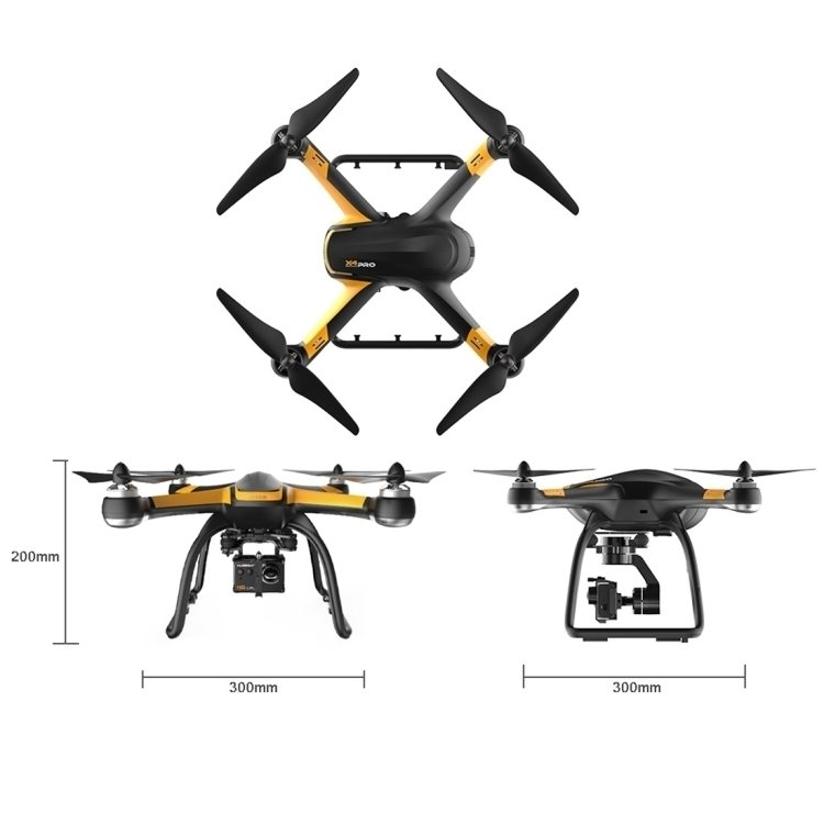 Hubsan H109S X4 PRO Drone, Standard Edition