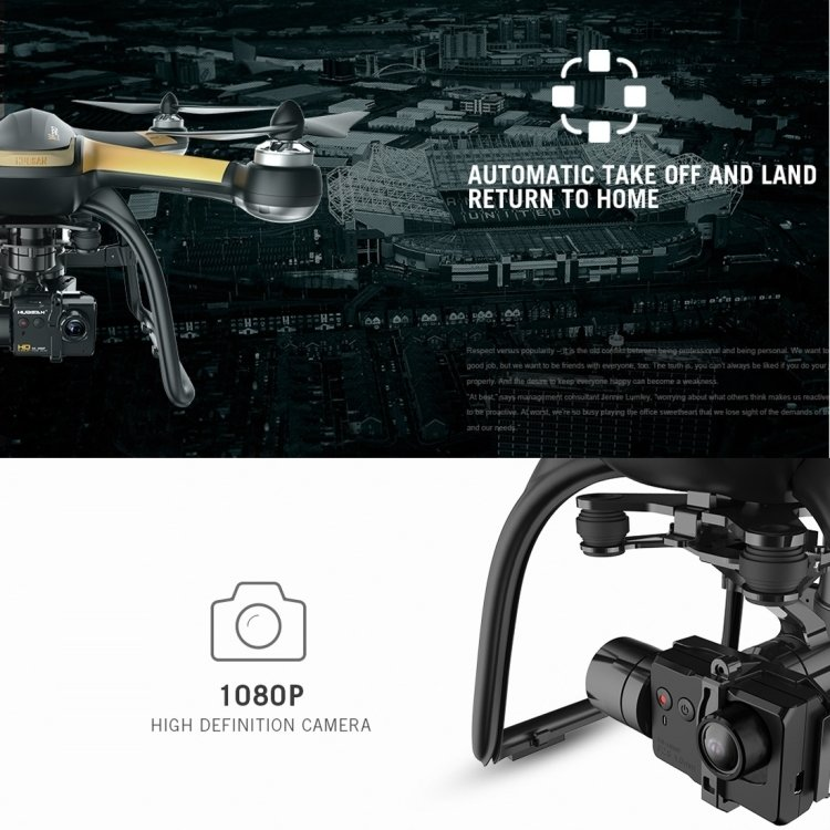 Hubsan H109S X4 PRO Drone, High Edition