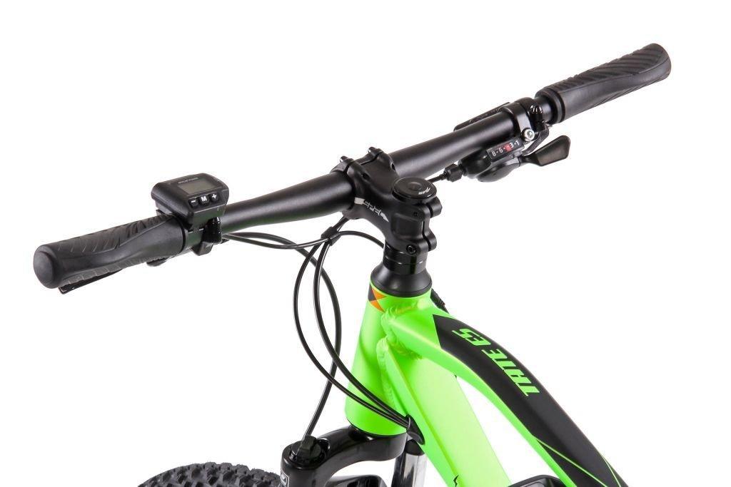 """Apache TATE E5 - lasten MTB sähköpyörä 24"""", vihreä"""