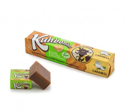 KUHBONBON VEGAN BAR, caramels, 72g