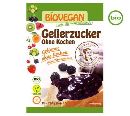 BioVegan Organic Gelling Sugar without cooking for Jam making, 115g