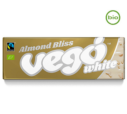 Vego WHITE Almond Bliss, organic, 50g