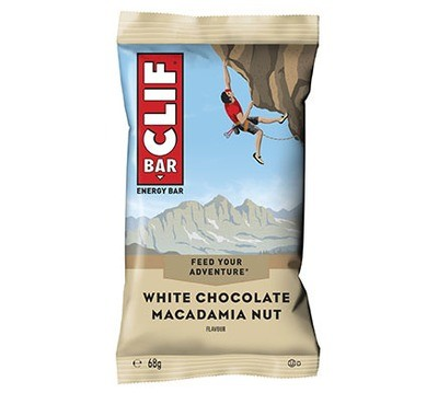 CLIF Bar WHITE CHOCOLATE MACADAMIA  flavour energy bar, 68g