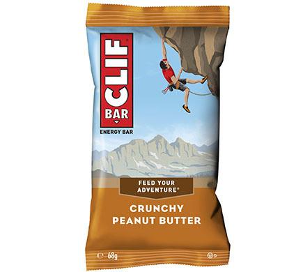 CLIF Bar CRUNCHY PEANUT BUTTER energy  bar, 68g