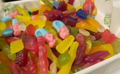 Luxury Vegan Gummy Mix 200g!! (compostable packaging only)