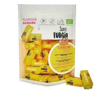 Organic Fudge - Banana Flavour 150g!