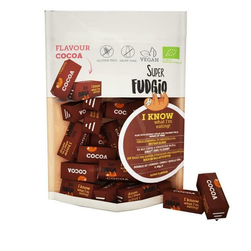 Organic Fudge - Cocoa Flavour 150g!