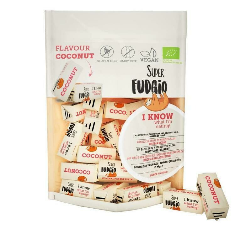 Organic Fudge - Coconut flavour 150g!