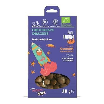 Organic Chocolate Buttons! 80g!