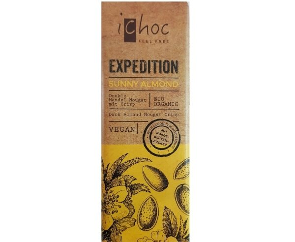 Ichoc Chocolate Sunny Almond 50g