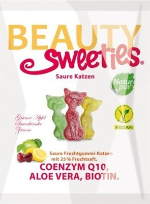 Beauty Sweeties - Sour Cats 125g