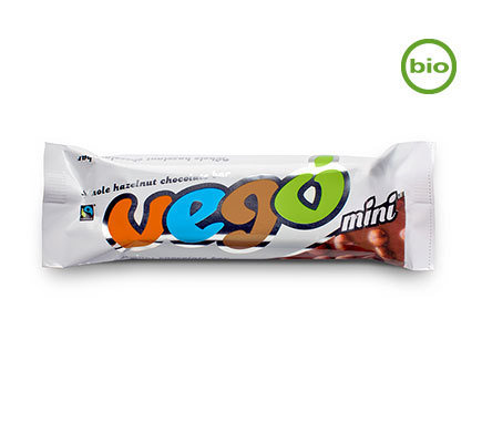 Vego Mini Bar - Organic - Fair Trade certified 65g