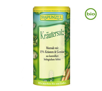 Rapunzel Organic Herbal Salt 125g