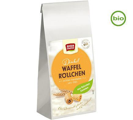 Rosengarten Organic SPELT WAFFLE ROLLS 150g