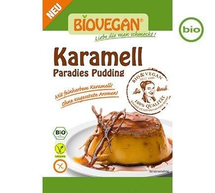 Biovegan Caramel Pudding, Organic, 43g