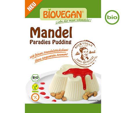 Biovegan PARADISE PUDDING Almond, Organic, 49g