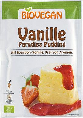 Biovegan PARADISE PUDDING Vanilla, Organic, 31g