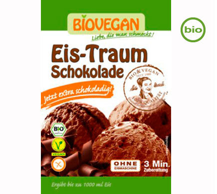 Vegan Ice Cream powder, Organic, Chocolate, use your own plant milk and cream
