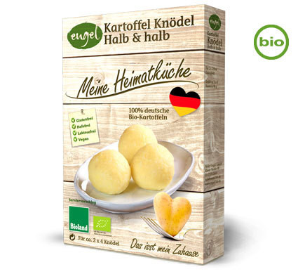 Vegan Potato Dumplings – Organic – 2x115g