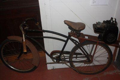 Antique Powered Bicycle