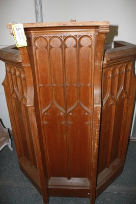 Large Wodden Pulpit