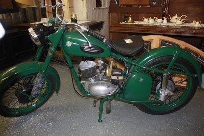 1956 Motorad Zopau RT-125 Motorcycle