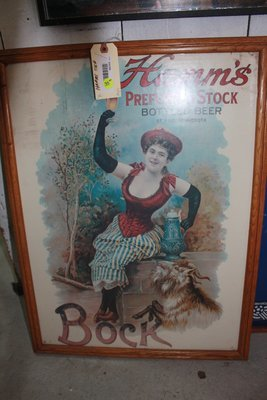 Vintage Hamms Beer Sign