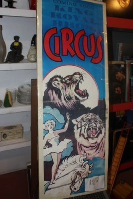 King Royal Bros. Circus Poster