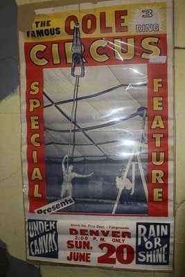 Cole Circus Poster - Denver