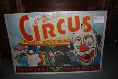 Al G. Kelly - Miller Bros Circus Poster