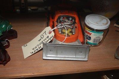Hand Hawk Vintage Toy Buldozer