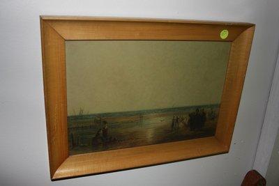 Old Print In Nice Frame