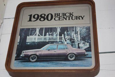 1980 Buick Century Sign