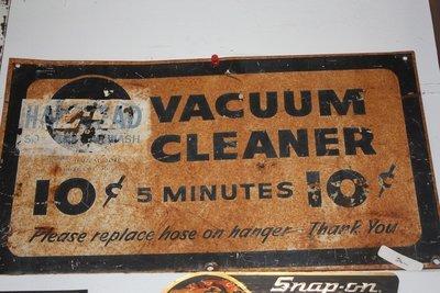 Old Car Wash Sign