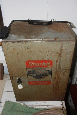 Old Shurhit Parts Cabinet