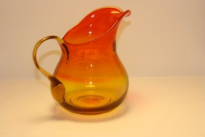 Red Amber Pitcher