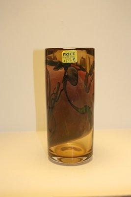 Thick Glass Flower Vase