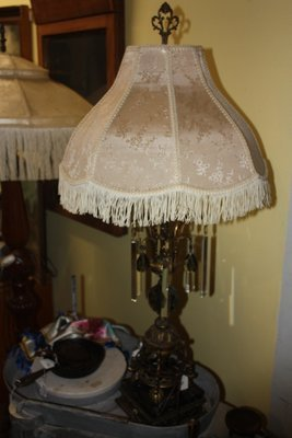 Beautiful Old Table Lamp