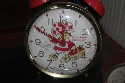 Vintage Strawberry Shortcake Alarm Clock